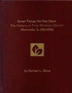 Great Things He Has Done: The History of…