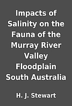 Impacts of Salinity on the Fauna of the…