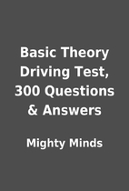 Basic Theory Driving Test, 300 Questions &…