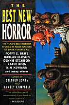 Best New Horror 5 by Stephen Jones