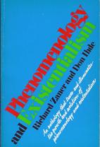 Phenomenology and existentialism (Capricorn…