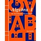 Algebra 1: An Incremental Development by…