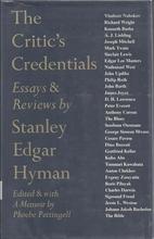 The critic's credentials: Essays &…