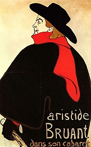 Author photo. Poster by Toulouse-Latrec, 1893 (Yorck Project)