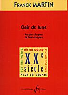 Clair de Lune by Frank Martin