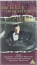 The League of Gentlemen (videocassette)