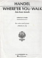 Where'er You Walk (from Semele) in G for…