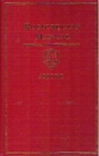 Rosicrucian Manual by H. Spencer Lewis