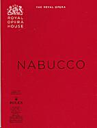 Nabucco [programme] by Royal Opera House