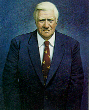 Author photo. Painting by Robert Vickery, 1986, Collection of U.S. House of Representatives