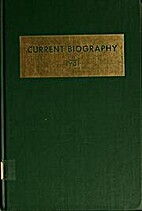 Current Biography by Charles Moritz