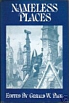 Nameless Places by Gerald W. Page