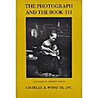 The Photograph and the Book III; (Catalogue…
