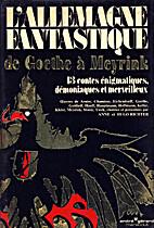 L'Allemagne fantastique de Goethe à…