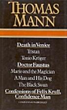 Thomas Mann by Thomas Mann
