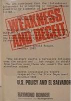 Weakness & Deceit: U.S. Policy and El…
