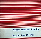 Modern American painting by Lawrence Alloway