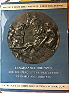 Renaissance bronzes from the Samuel H. Kress…