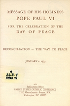 Message of His Holiness Pope Paul VI for the…