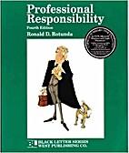 Professional Responsibility (Black Letter…