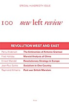 New Left Review I/100: Revolution West and…