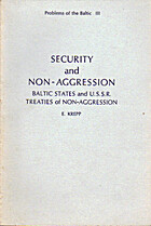 Security and non-aggression; Baltic states…