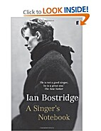 On being a singer by Ian Bostridge