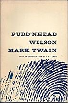 Pudd'nhead Wilson by Mark Twain