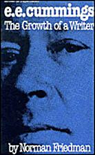 E. E. Cummings: The Growth of a Writer…