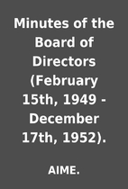 Minutes of the Board of Directors (February…