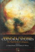 Biblical studies-- cultural studies : the…