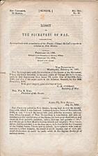 Report of the Secretary of War…