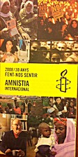 Fulletó Amnistia internacional 2008 / 30…