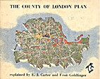 The County of London Plan by E. J. Carter