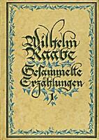 Gesammelte Erzählungen, Bd. 1 by Wilhelm…