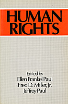 Human Rights by Ellen Frankel Paul