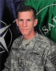 Author photo. U.S. Army General Stanley McChrystal in his official portrait as head of ISAF