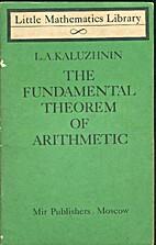 The Fundamental Theorem Of Mathematics by…