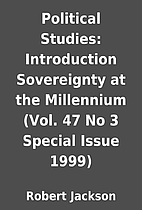 Political Studies: Introduction Sovereignty…