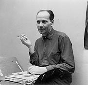 Author photo. Miron Białoszewski