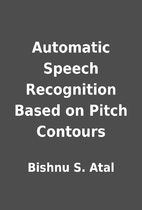 Automatic Speech Recognition Based on Pitch…