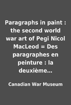 Paragraphs in paint : the second world war…