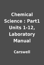 Chemical Science : Part1 Units 1-12,…