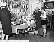 Author photo. C. Gregory Crampton, seated. Utah State Historical Society