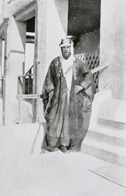 Author photo. Image from <b><i>The Heart of Arabia: A Record of Travel and Exploration, Vol. I</i></b> (1922) by H. St. J. B. Philby
