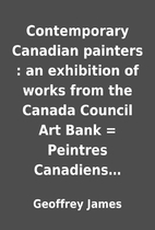 Contemporary Canadian painters : an…