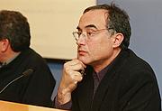 Author photo. Salvador Cardús al MHC el 2001
