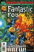 Fantastic Four [1998] #1 by Scott Lobdell