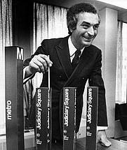 Author photo. Massimo Vignelli [credit: Jim McNamara/The Washington Post]