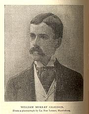 Author photo. William Murray Graydon, 1891